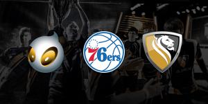 Philadelphia 76ers avec Team Dignitas et Apex Gaming