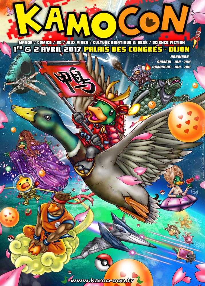Kamo Con 2017 - du 1er au 2 avril 2017 - Dijon