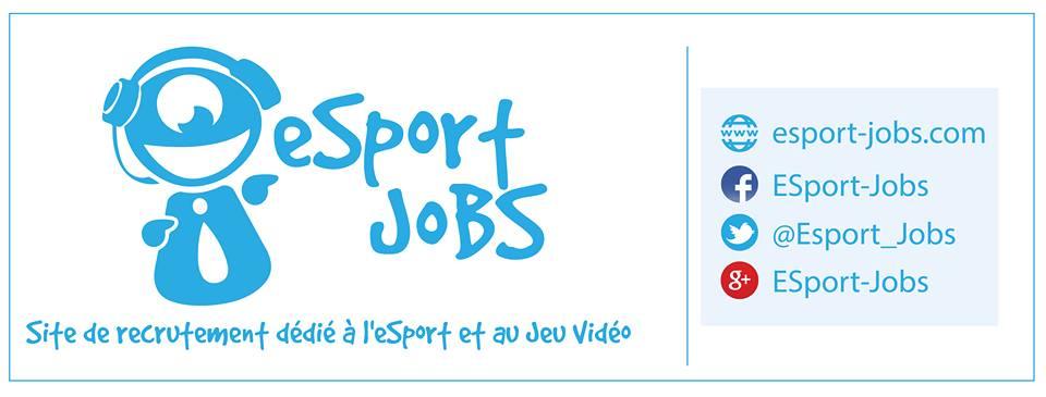 Esport-Jobs : site de recrutement dans l'e-sport et le jeu vidéo