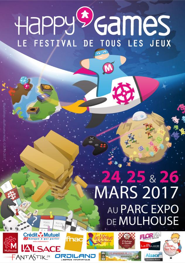Happy'Games : le festival de tout les jeux - Edition 2017