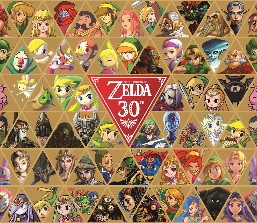 Legend of Zelda 30e anniversaire