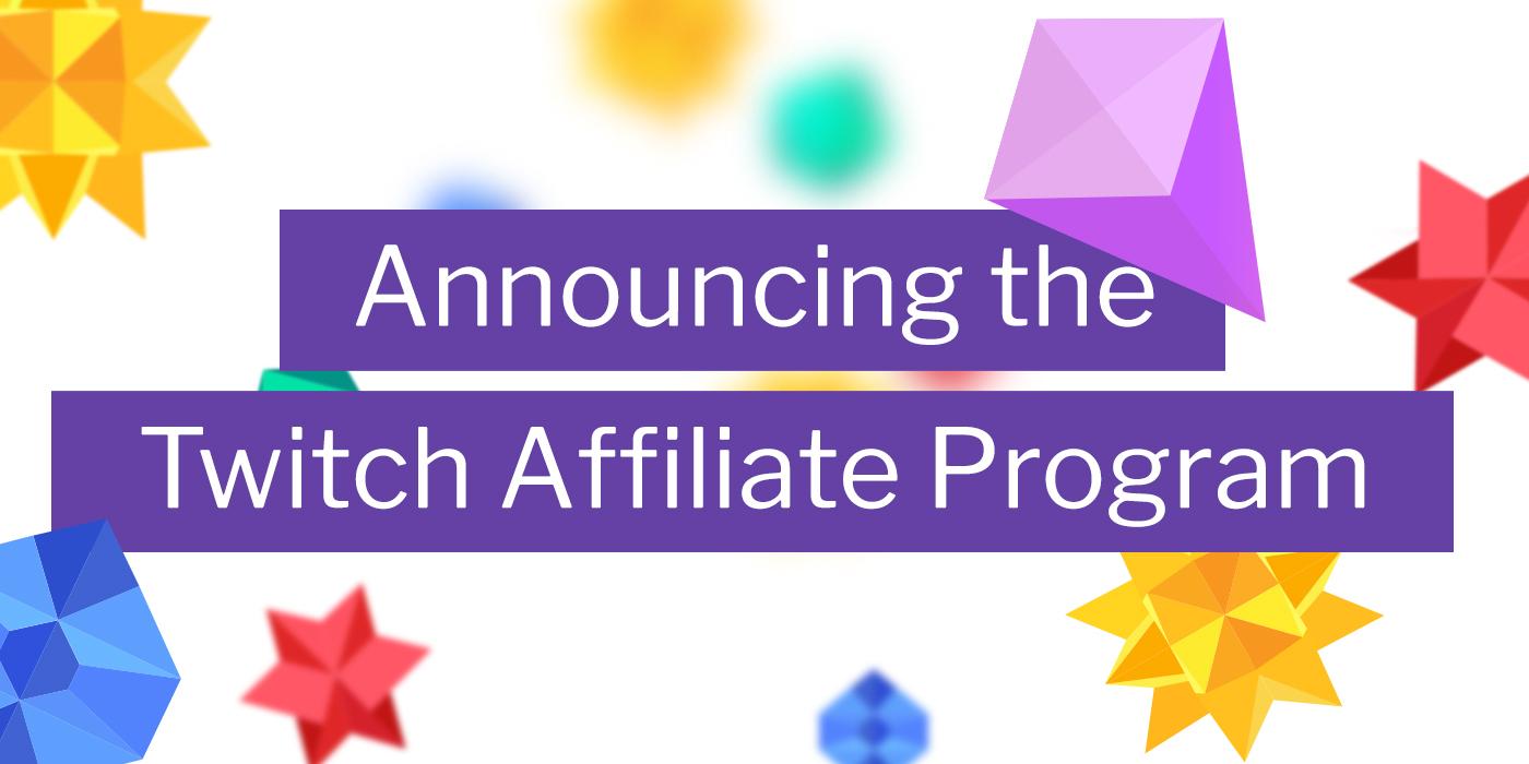 Twitch : programme d'affiliation