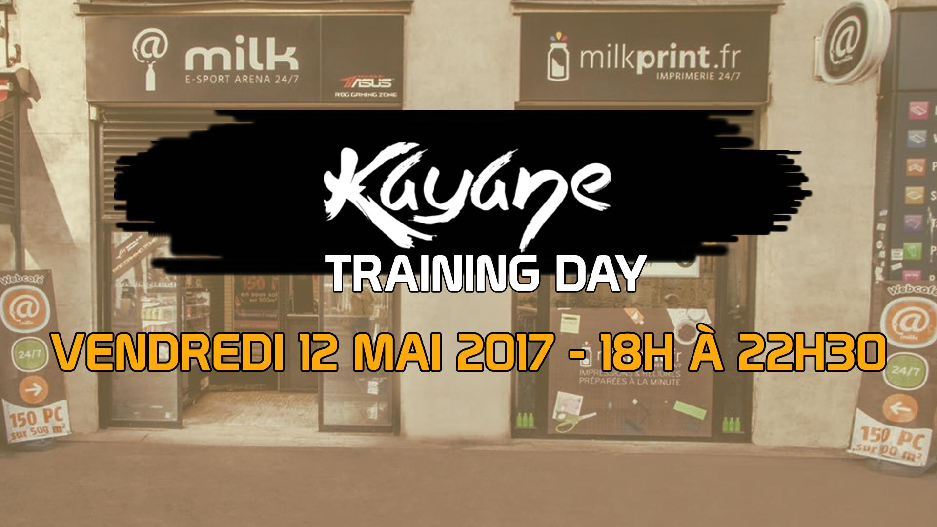 Kayane Training Day