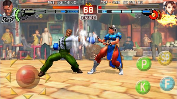 Street Fighter IV Champion Edition sur iOS