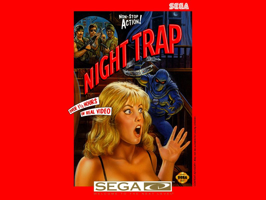 Night Trap Artwork