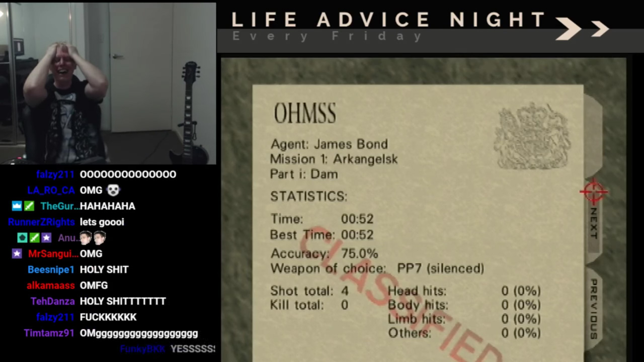 Goldeneye 007 - Record battu