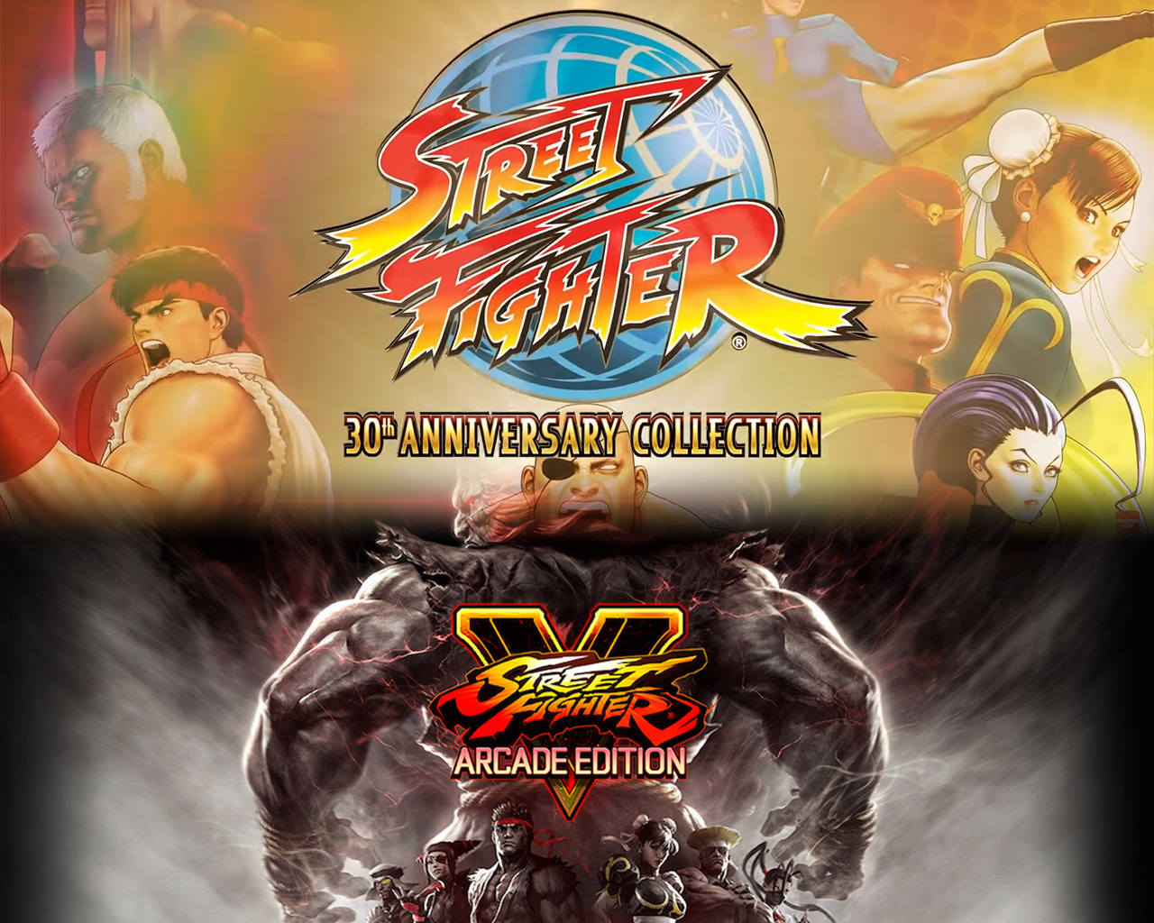Street Fighter - SFV Arcade Edition et 30 Anniversary Collection