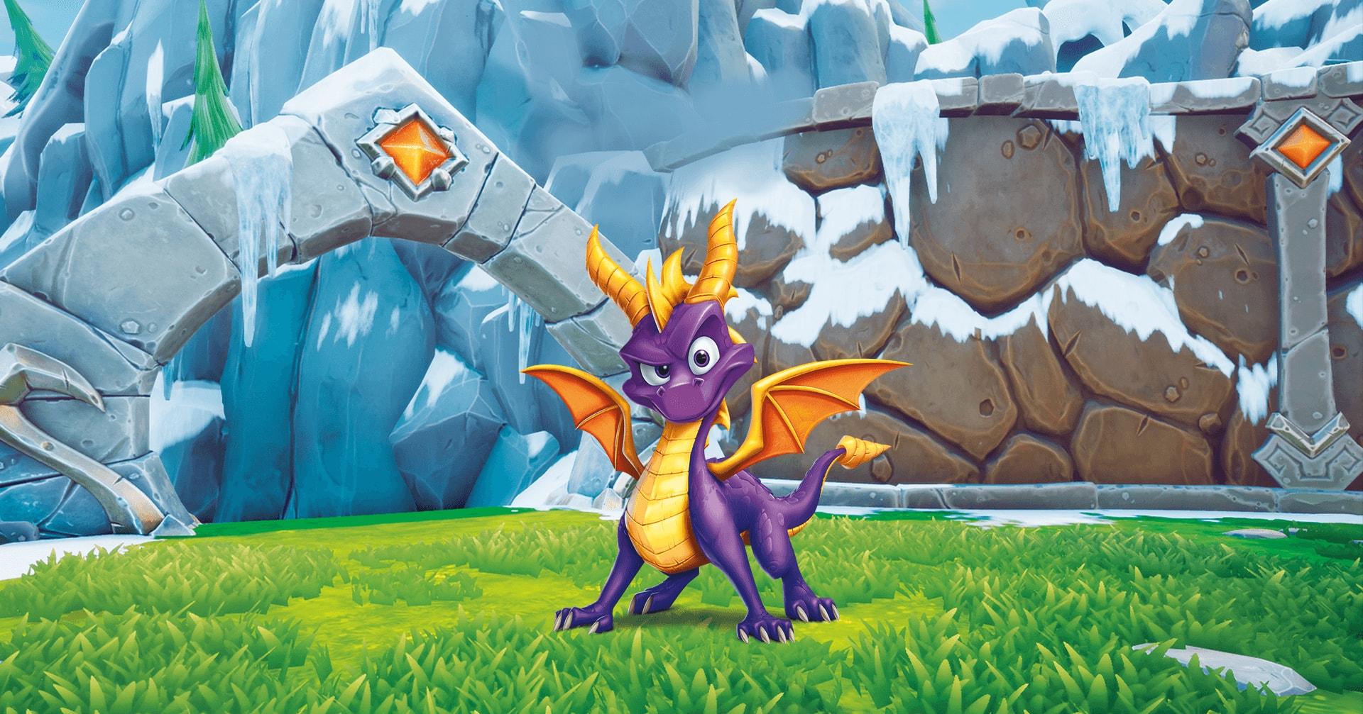 Spyro Reignited Trilogy - le dragon pourpre revient sur PS4 et Xbox One