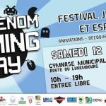 Cattenom Gaming Day – Festival Jeux vidéo et Esports -News jeux evenement