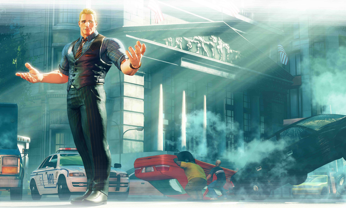 Cody reprend du service dans Street Fighter V Arcade Edition