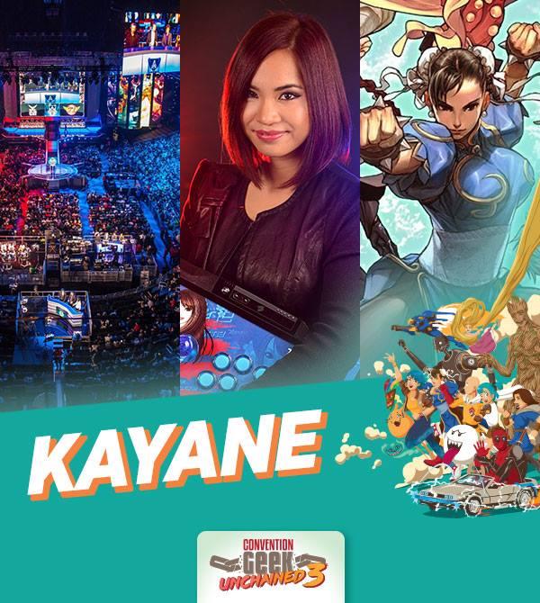Interview de Kayane – Geek Unchained 3, Mulhouse -E-sport post