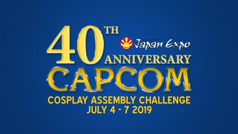 Japan Expo 2019 – Rassemblement Cosplay pour les 40 ans de Capcom - evenement