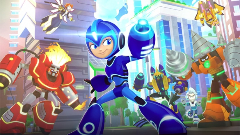 Megaman Fully Charged - Trailer du San Diego Comic Con 2018