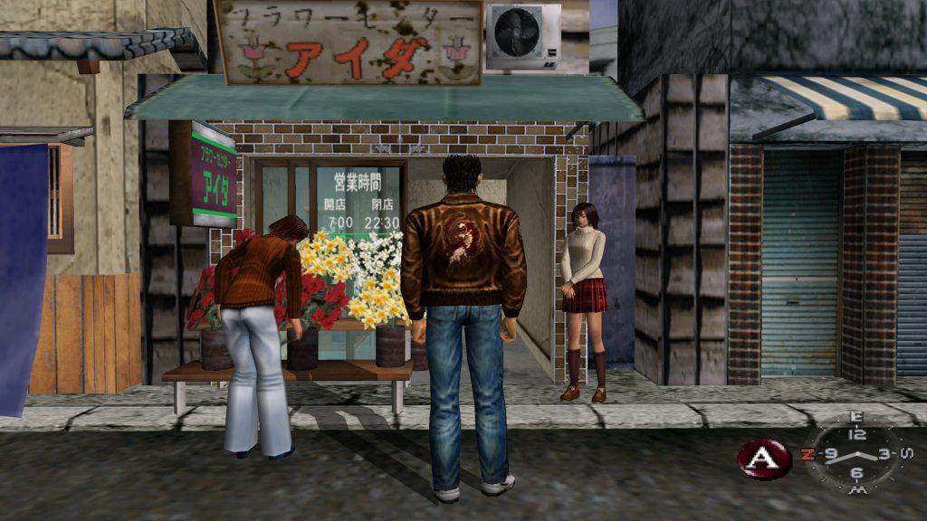 Shenmue sur Dreamcast : la tentative d'un jeu AAA par Sega en 1999.