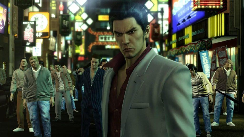 """Si vous souhaitez mourir, alors ramenez-vous !!"" - Kiryu Kazuma (Yakuza 1)"