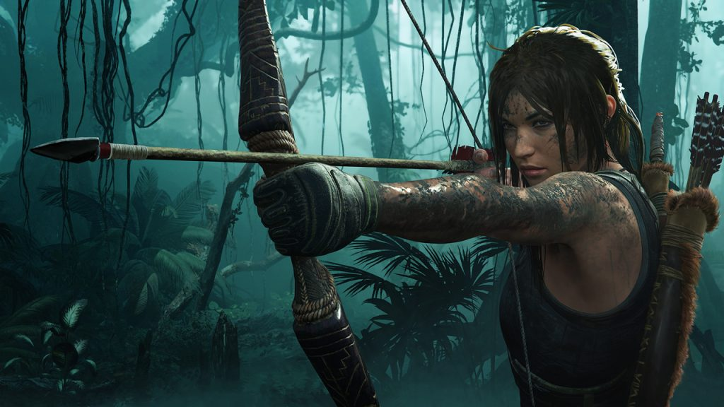Lara Croft dans Shadow of the Tomb Raider