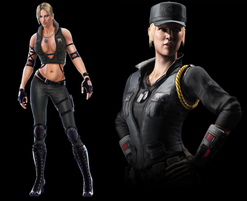 Evolution du design de Sonya Blade (Mortal Kombat 9 vs Mortal Kombat X)