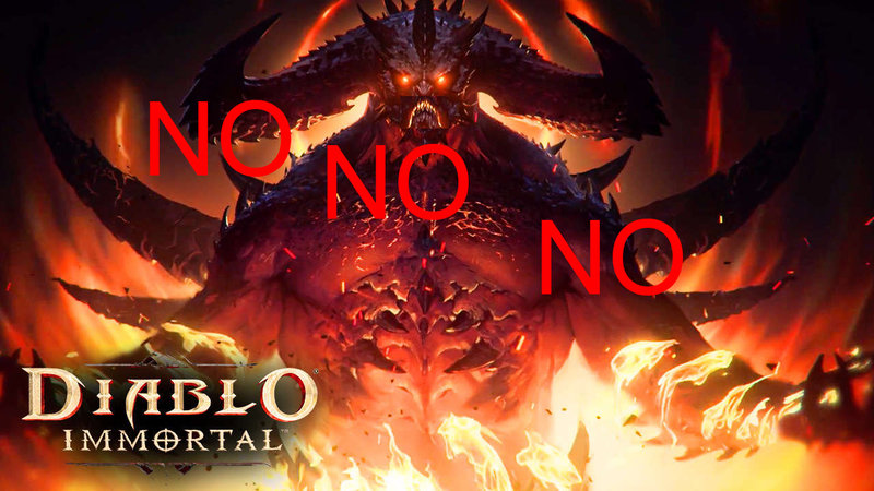 Diablo Immortal - une réception négative des fans, après son annonce