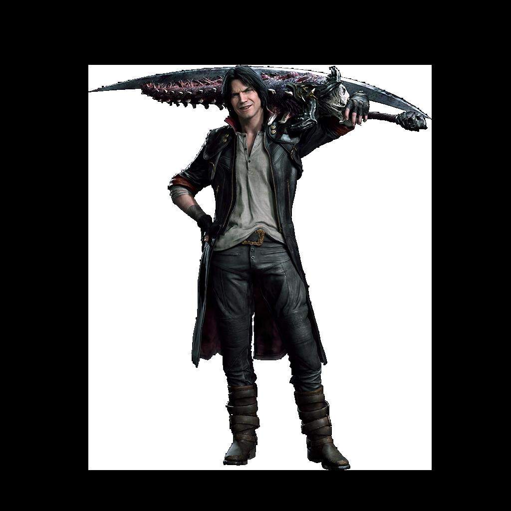 Costume EX de Dante dans Devil May Cry 5, inspiré de DmC: Devil May Cry
