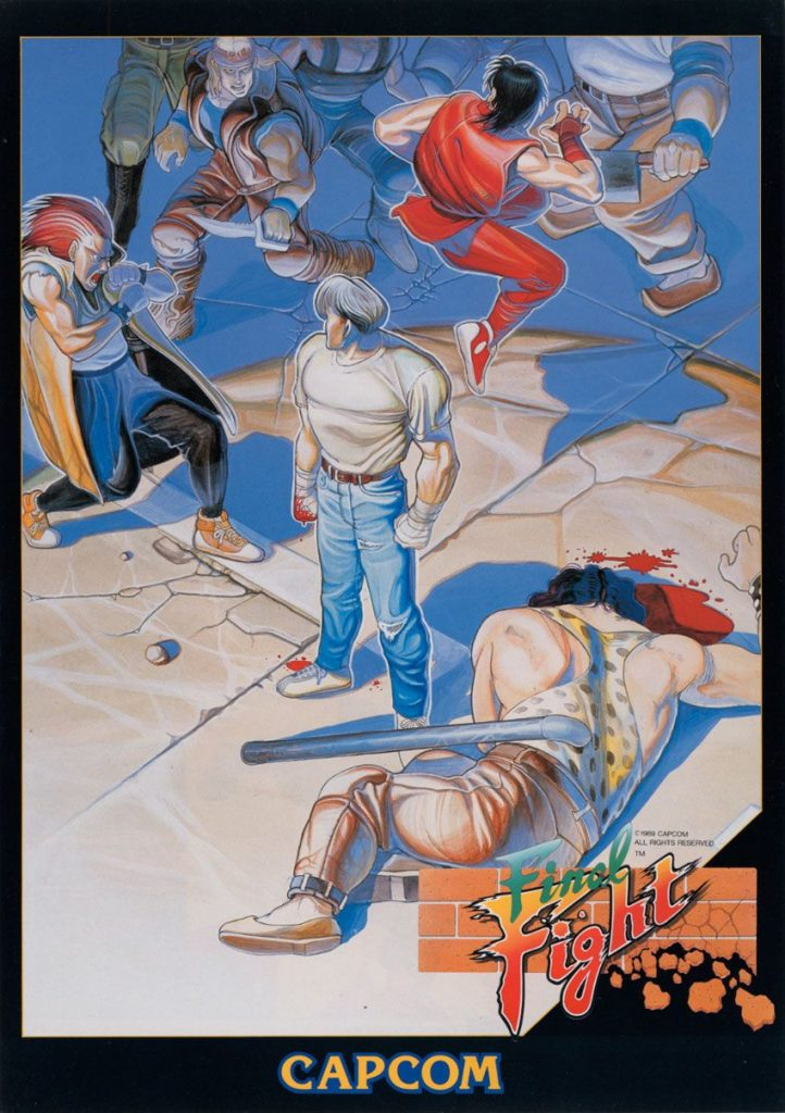 Flyer de Final Fight sur Arcade