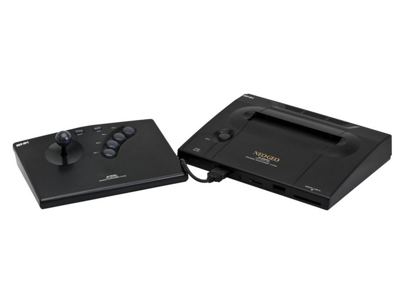La Neo-Geo AES avec son joystick Arcade